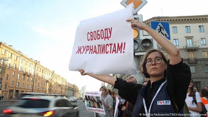 Belarus Proteste in Minsk