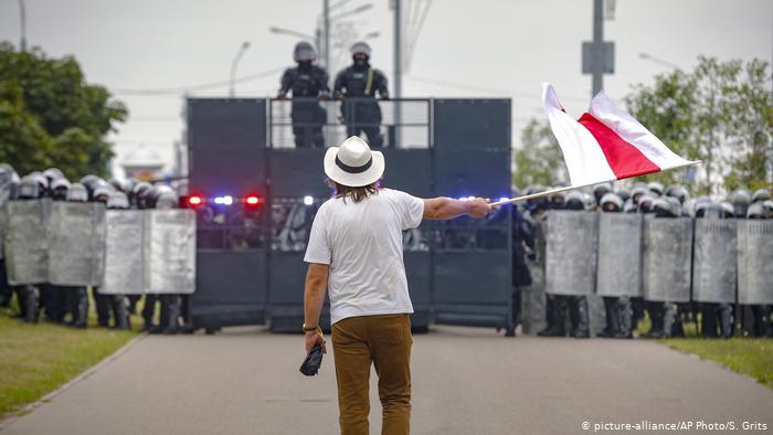 Belarus Protest in Mins