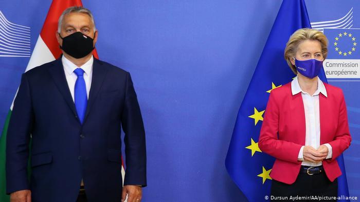 Brüssel I Viktor Orban und Ursula von der Leyen