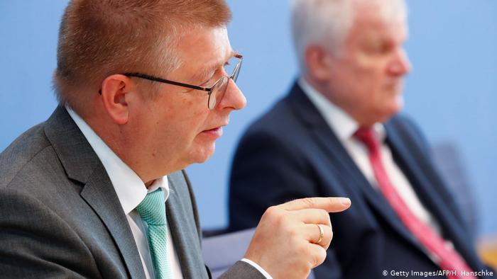 Bundespräsident des Bundesamtes für Verfassungsschutz Thomas Haldenwang