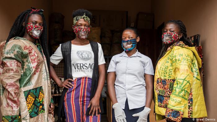 Uganda | Coronavirus | Herstellung nachhaltiger Schutzmasken in Mpigi