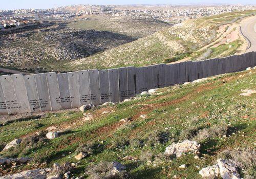 Zid u Ramali, foto: W. Hagens/Wikimedia Commons