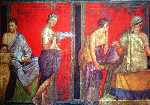 Foto: Freska iz Villa dei Misteri, Pompeja, 60. godine p.n.e. / Wikimedia