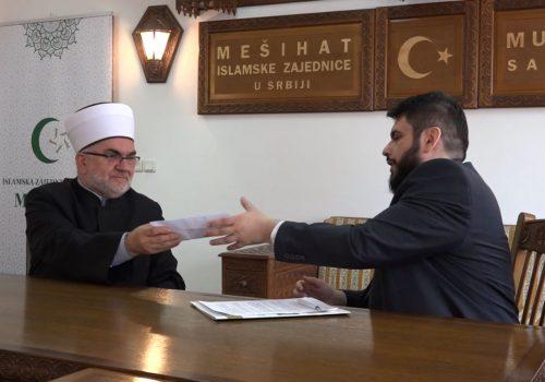Muftija Dudić uručio ključeve vozila za Media centar Islamske zajednice_60993465b97f2.jpeg