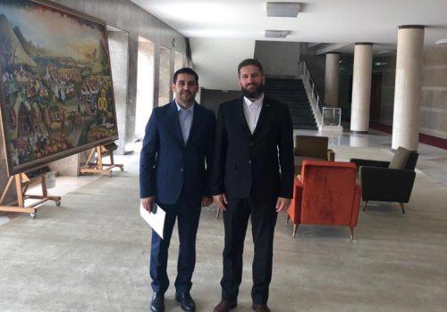 Muftija sandžački posjetio dr. Ferida Bulića u Ministarstvu pravde_60d13bff7dcfd.jpeg