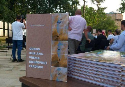"""Održana promocija djela """"Odnos Kur' ana"""" prema književnoj tradiciji"""" dr Mensura Zukorlića_60efa218bed7f.jpeg"""