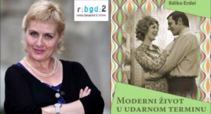 """Radio Beograd 2, emisija Stepenik – Ildiko Erdei objavila knjigu """"Moderni život u udarnom terminu""""._6170100617190.jpeg"""