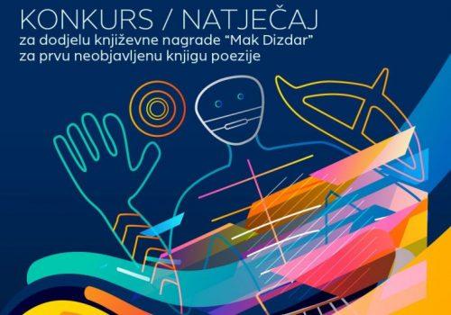 SLOVO GORČINA: Otvoren konkurs za nagradu MAK DIZDAR_6094ade468927.jpeg