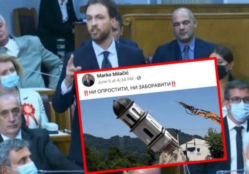 Srpski političar iz Crne Gore prijeti zbog uklanjanja crkve iz dvorišta nane Fate_60be1d301a444.jpeg