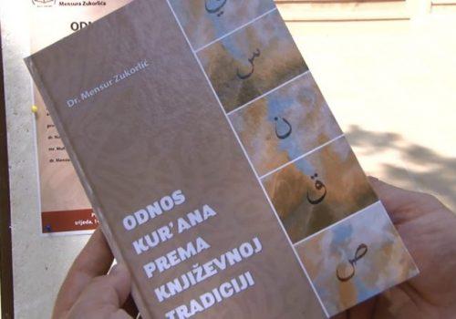 """Sutra u biblioteci """"Dositej Obradović""""promocija knjige """"Odnos Kur´ana prema književnoj tradiciji"""" autora dr Mensura Zukorlića_60ee508f01ccf.jpeg"""