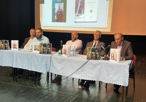 U Plavu promovirana djela akademika Šerba Rastodera i Fehima Džogovića_6120fe396e696.jpeg